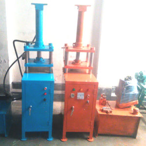Hydraulic Sleeper, Shoes, Leather Emboss Design Machine